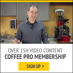 Sign up to Coffee PRO