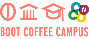 Online Boot Camp Coffee Course Logo